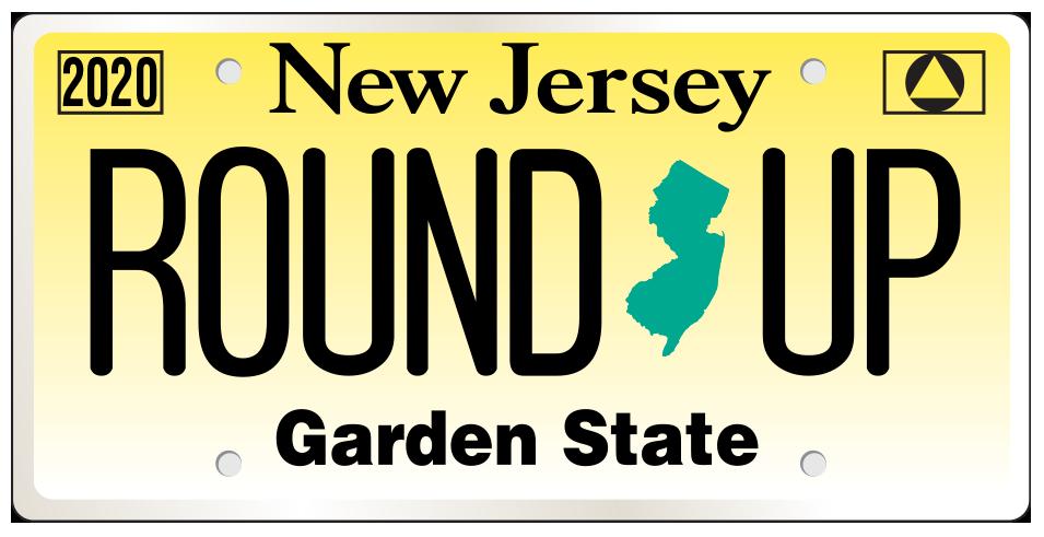 NJRU License Plate Logo
