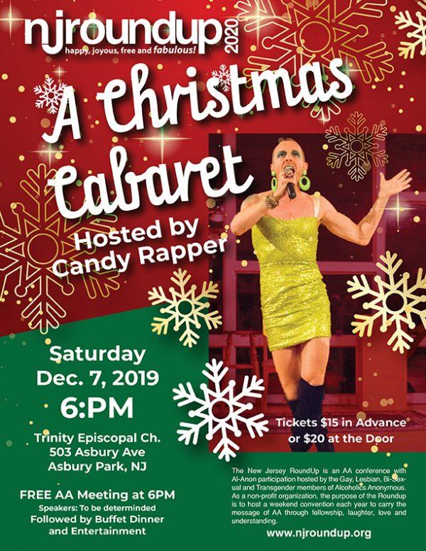 Christmas Cabaret Flyer